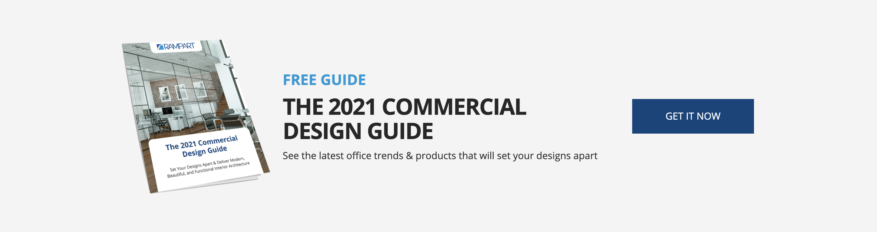 Click here to download Rampart's Commercial Design Guide for Architects