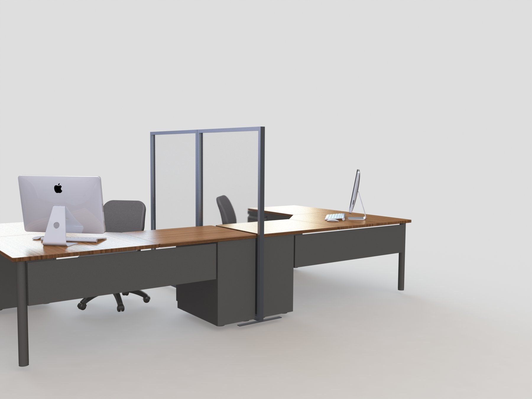 moodprivacy free standing desk partition
